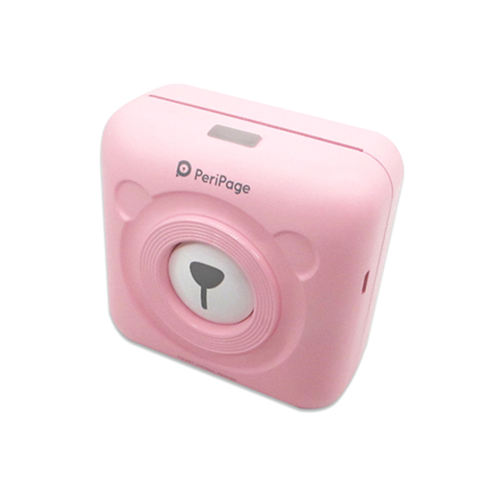 new arrival peripage photo printers pink