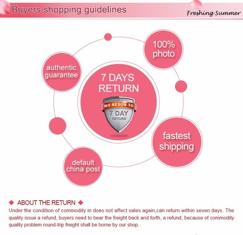 buyers shopping guidelines