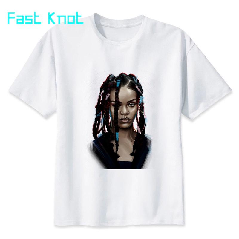 Rihanna Hoovering T-Shirt Men Women Music Pop Cool Designer Birthday Gift