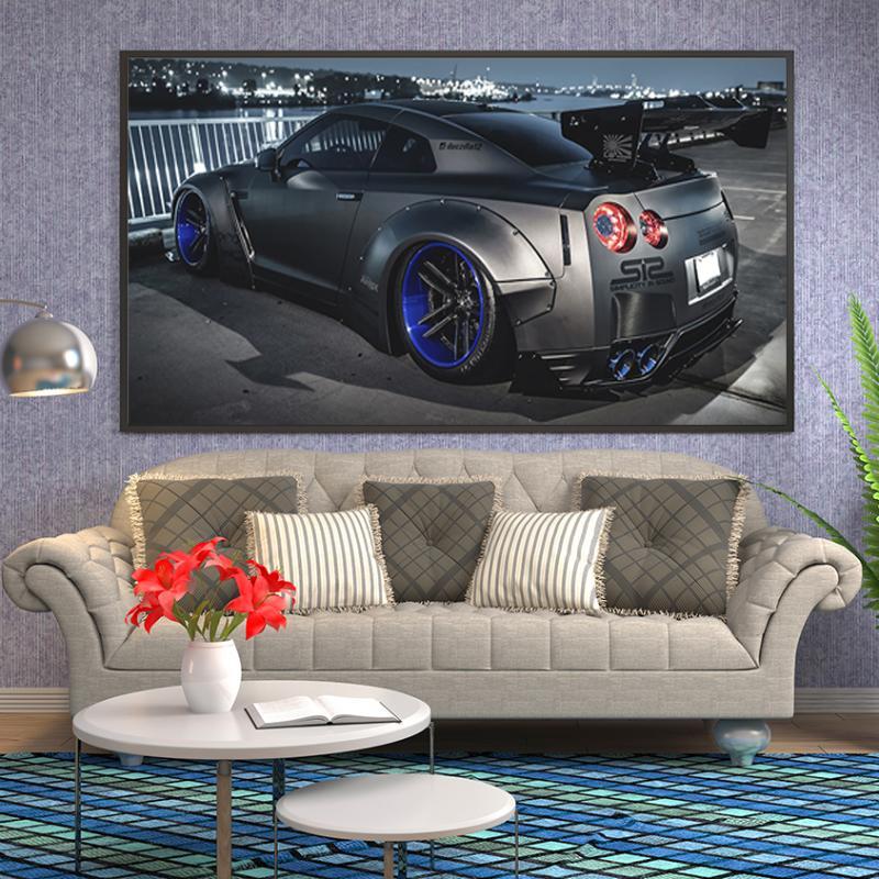 Ford Popular Personnalisé Autocollant Voiture Mural Art Garçons Chambre Garage