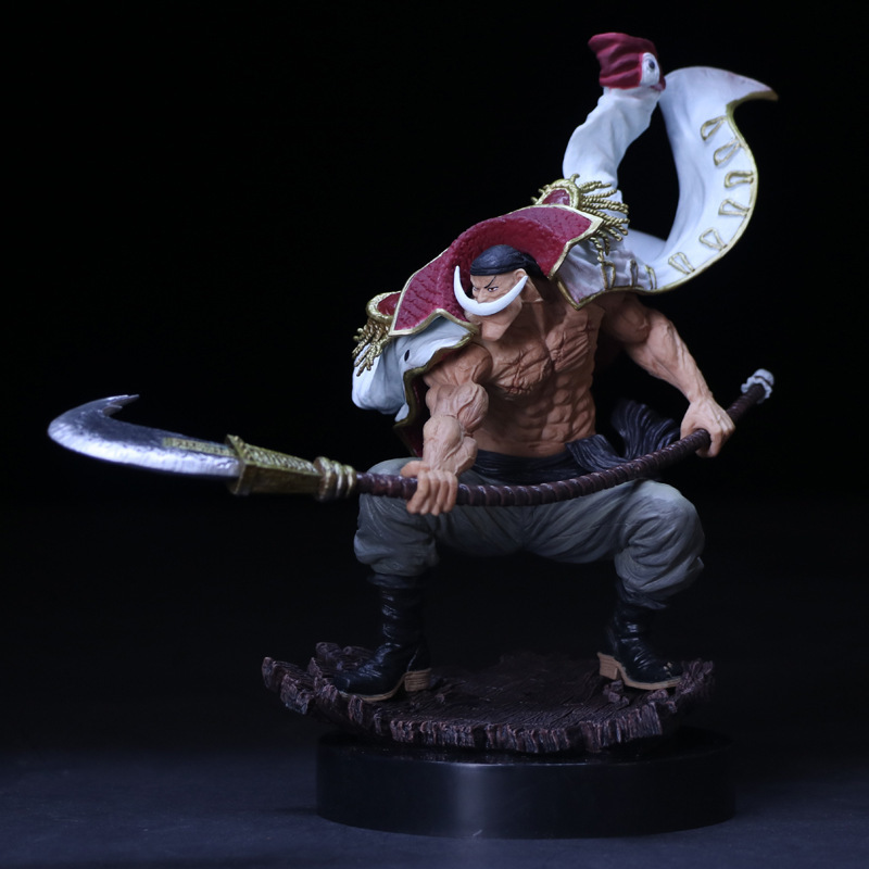 One Piece Action Figure 17 WHITE BEARD Pirates Edward Newgate PVC One piece SCultures the TAG team Anime Figure Toys Japanese (5)