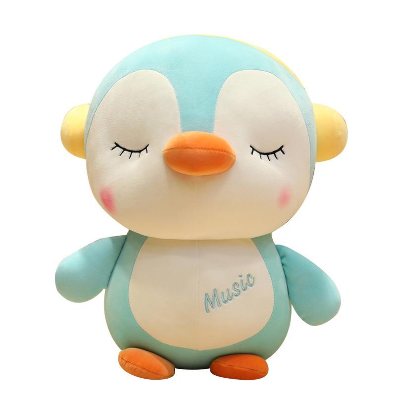 Q Penguin large doll plush toy doll rag doll child pillow pillow cushion gift UK