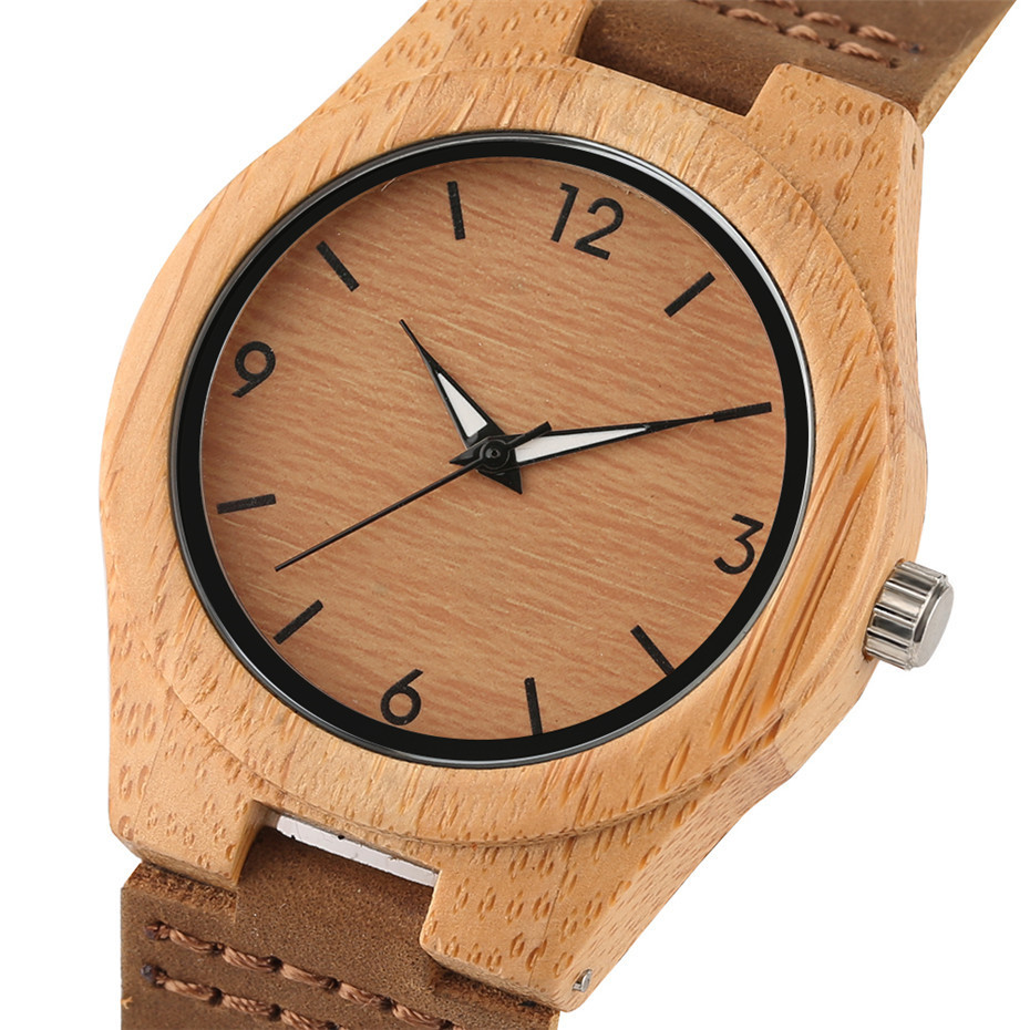 simple design fashion bamboo woood women watches03