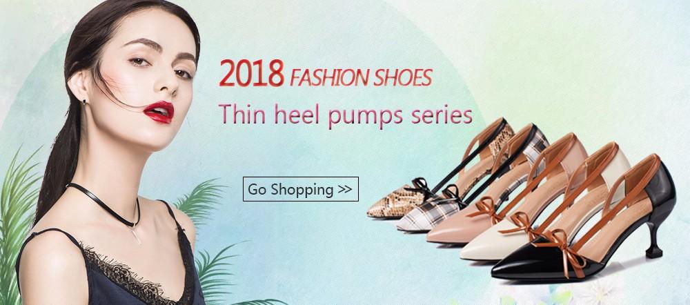 thin heel Pumps dianzhao
