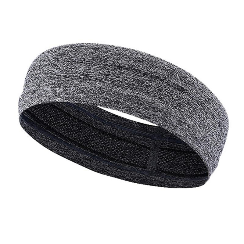New Stretchy Gym Towelling Exercise Sport Elastic Sweat Headband//Hair band Multi