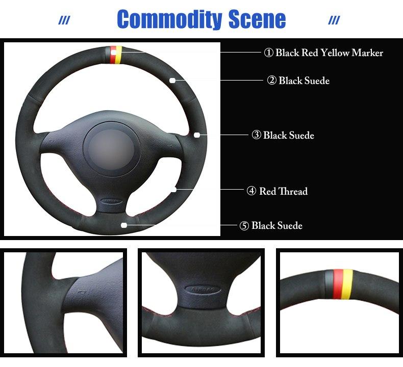 for VW Passat B5 2000 steering wheel cover