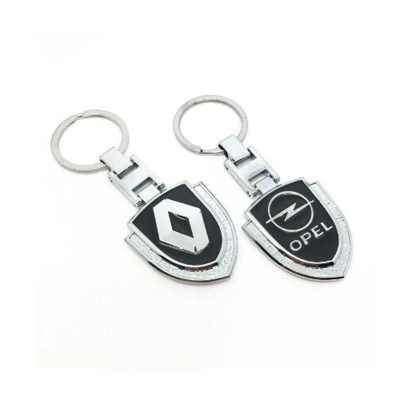 Black Nissan  Bottle Opener Keychain key ring silver car truck symbol