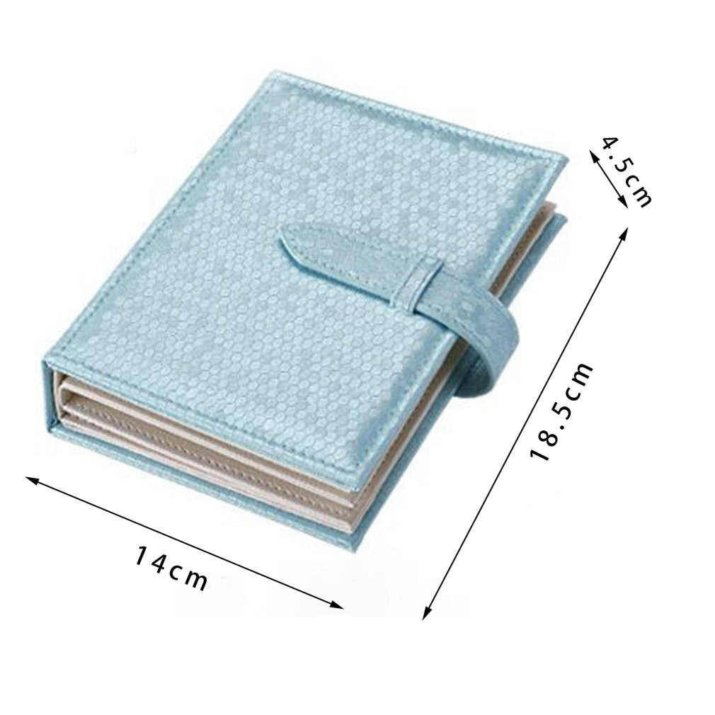 Mini Travel Jewelry Earrings Packaging Carring Box Case Makeup Organizer Leather Storage Bag Storage Casket Container Girls Gift