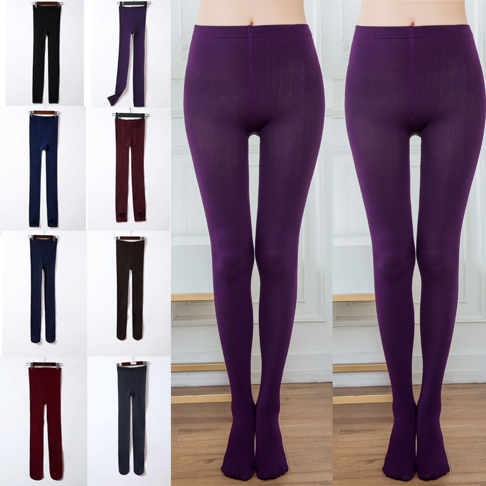 Women Thick Winter Warm Fleece Lined Slim Skinny Thermal Stretchy Leggings Pants