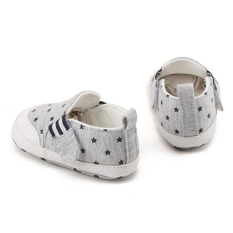 Baby Shoes For Girls Boys Newborn Infant Baby Girl Boy Star Print Shoes Soft Sole Anti-slip Shoes Baby First Walker Shoes M8Y11 (18)