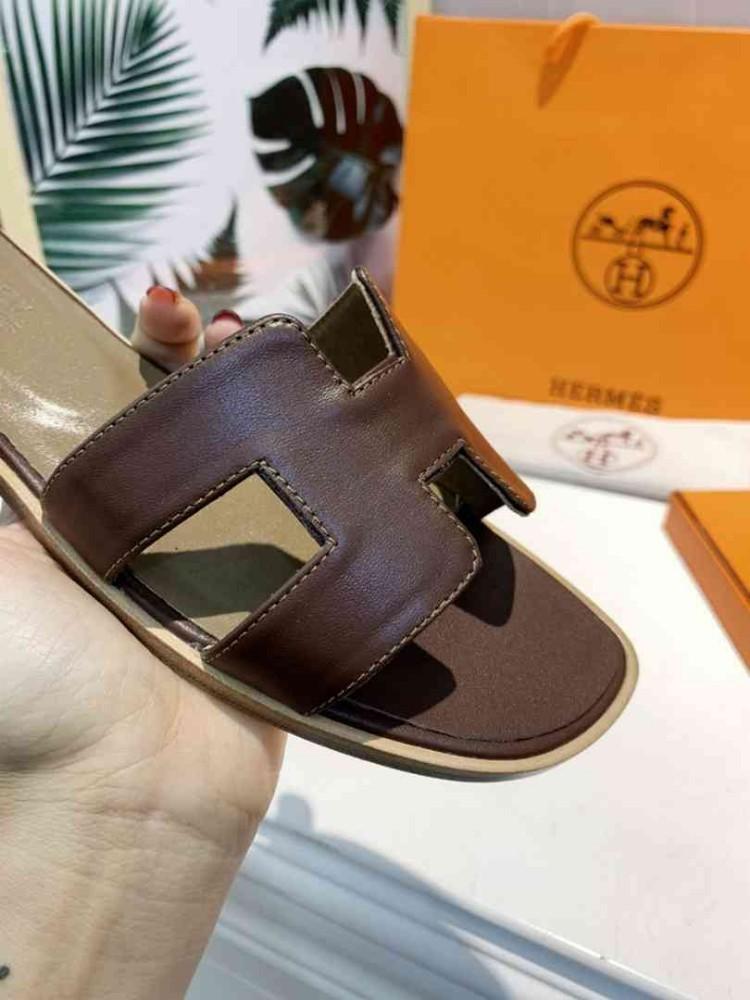 2019 лето новая мода женские тапочки элегантные сандалии из натуральной кожи бренда качество с коробкой хорошая обувь