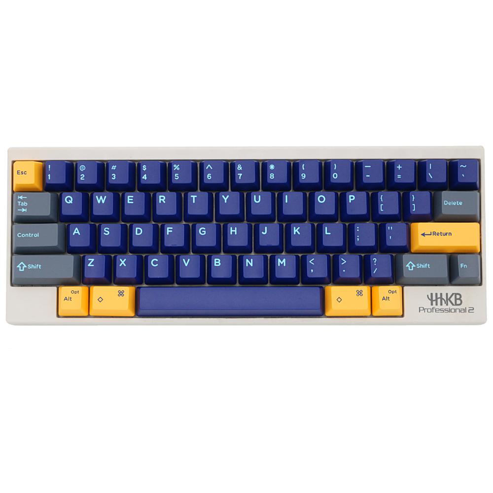 Domikey Hhkb Abs Doubleshot Keycap Set Atlantis Blue Hhkb Profile