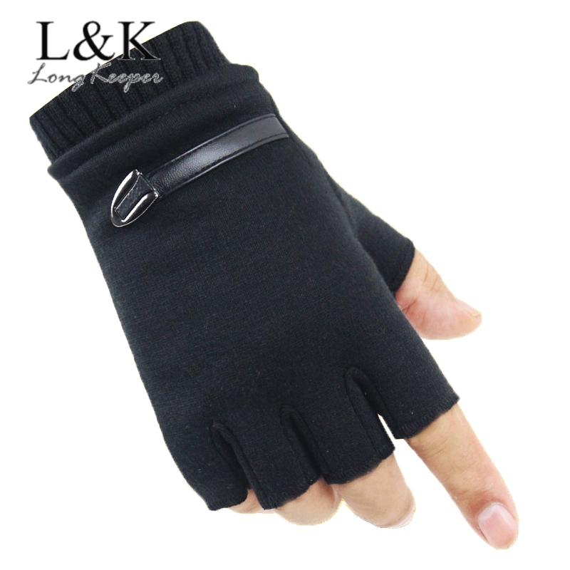 Halbe Fingerhandschuhe Erwärmung Im Freien Halbfinger Handschuhe Gloves DE