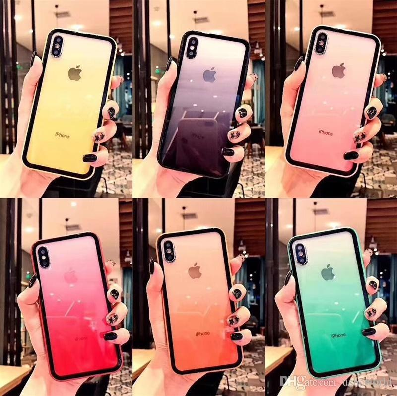 Ultra Thin For Funda Iphone 6 6S Colores Graffiti Art Rainbow
