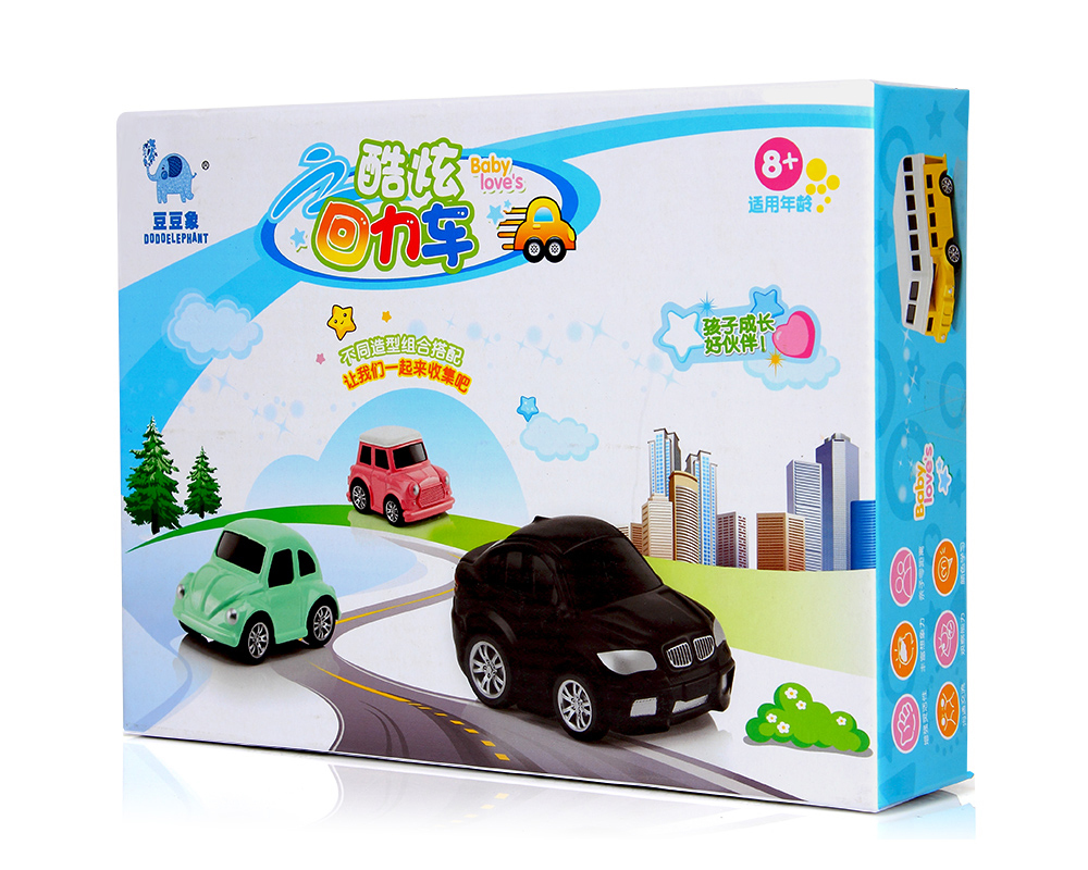 Small Car Toy Model Diecast Pull back Vehicles Mini alloy car set of machines kit for boys baby little oyuncak araba