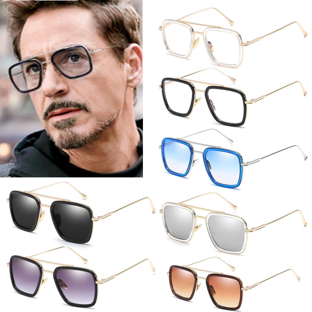 Jackjad 2018 Fashion Avengers Tony Stark Vol 006 Style Lunettes De Soleil Hommes Square