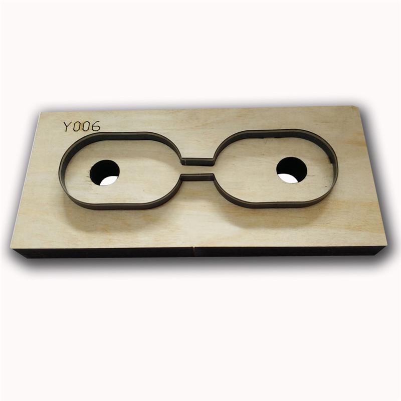 Chaveiro Oval Vida atacado corte Template madeira chaveiro Die Cutting Die Handmade Acessórios instrumento prático DIY