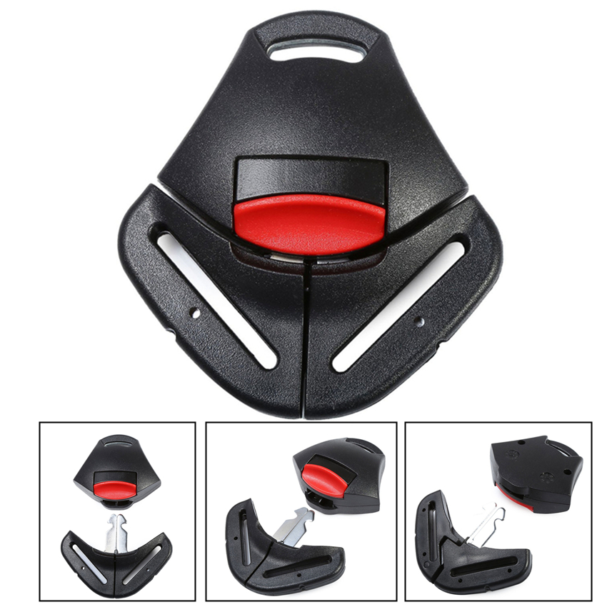 2pcsClip Buckle Belt Car Seat Safety Harness Baby Strap Chest Lock Child Stopper