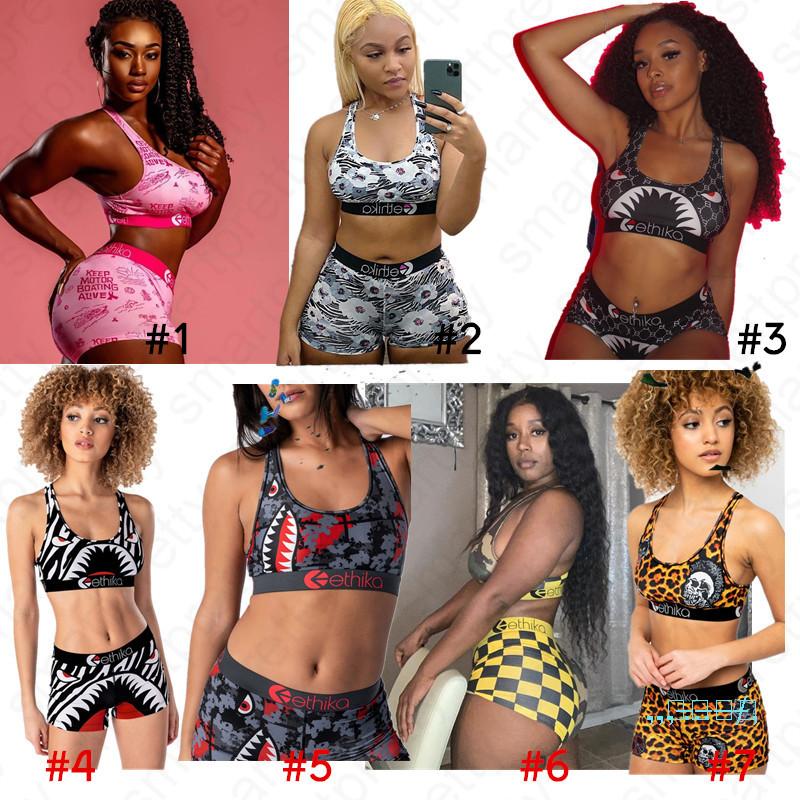 Ningneti Conjuntos De Mujeres Tankini Con Pantalones Cortos Para Ninos Bikini Para Mujer Conjunto De Trajes De Bano Push Up Sujetador Con Relleno Mujer Ropa De Bano