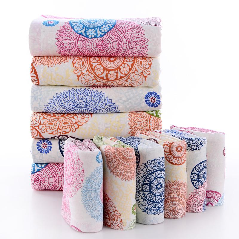 Coton ANCHOR Imprimé à séchage rapide adulte serviettes de bain Super Absorbant Plain Serviette