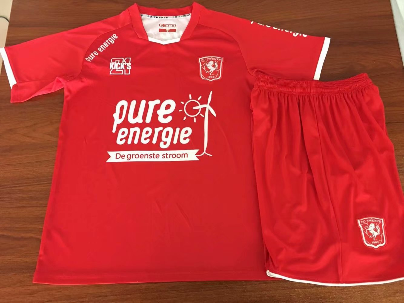 2019 2020 FC Twente Football junior Maillots Survêtements sets Twente 19 20 maillot de football short garçons