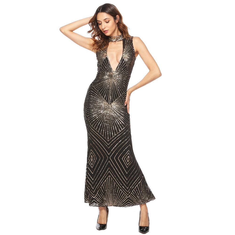 sequin maxi dress 2496 (5)