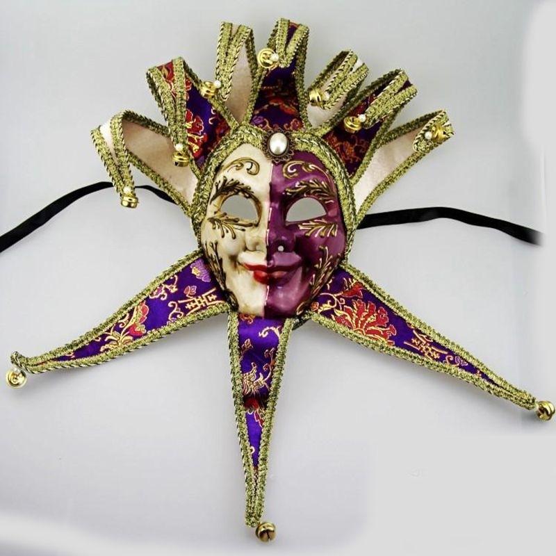 Luxury-Full-Face-Venetian-Joker-Masquerade-Mask-Bells-Cosplay-Mardi-Gras-Ball-Party-Mask-Wall-Decoration (2)