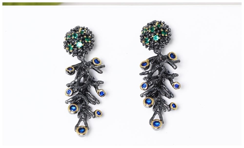 Drop Earrings WE3786 (9)