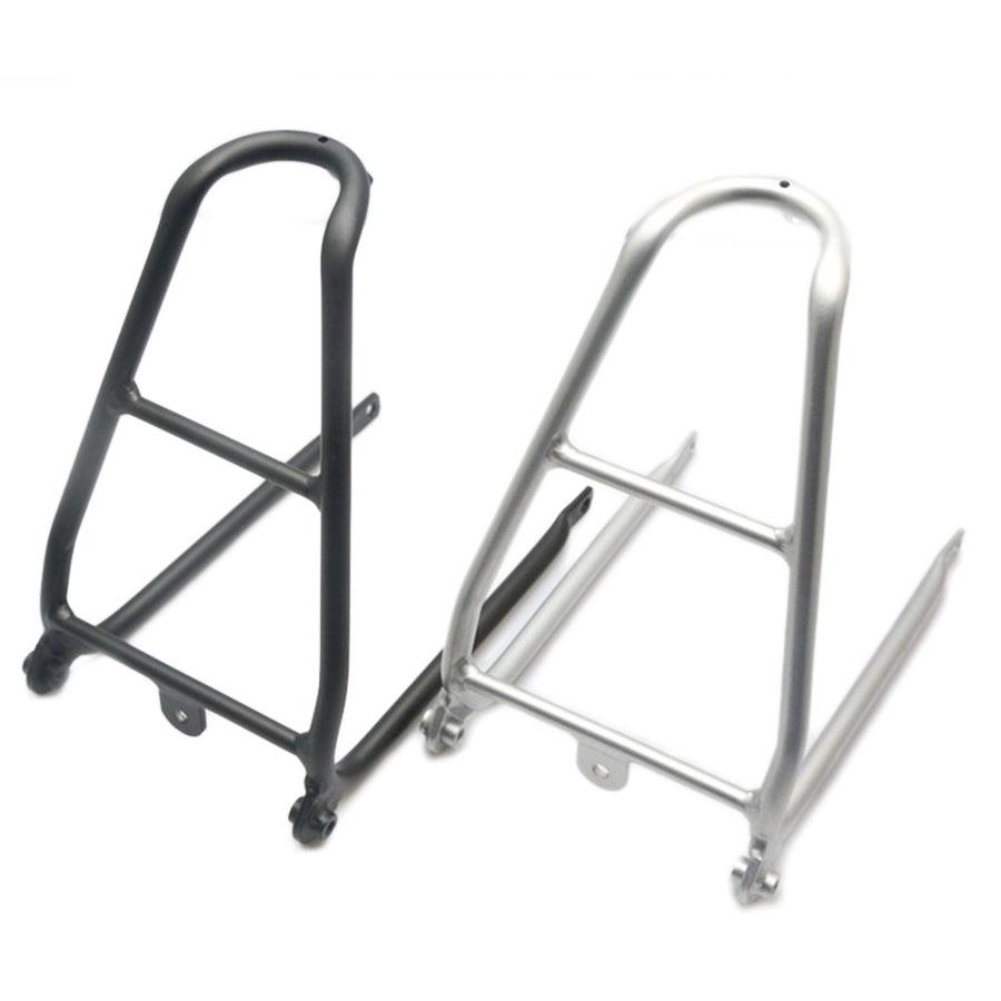 Alloy Rear Rack Lightweight Cargo Holder Stand for Brompton Folding Bike Refit