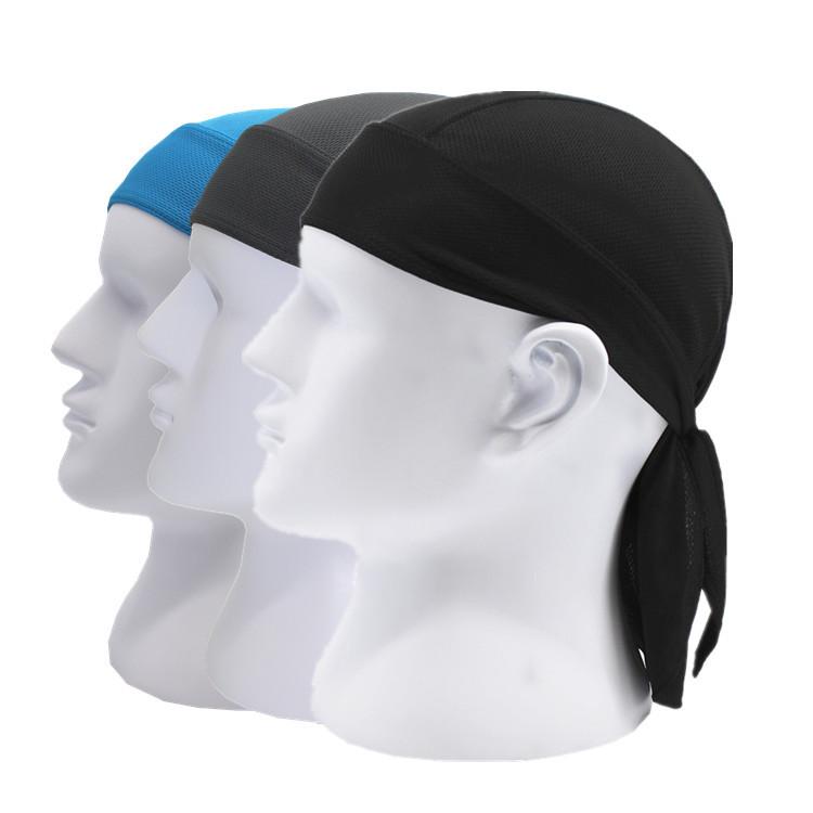 Headwear Headband Art Eye And Mouth Head Scarf Wrap Sweatband Sport Headscarves For Men Women