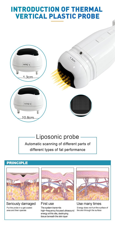 2 in 1 face slimming machine lipo cavitation machine lipo slim machine