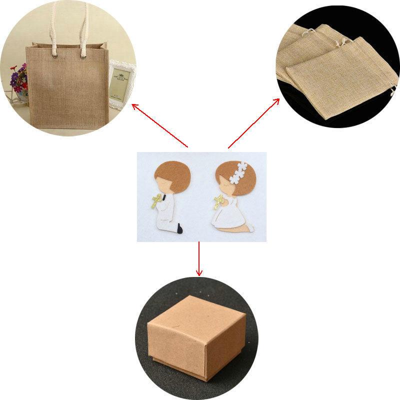 Avebien 50 pz preghiera ragazzo ragazza tessuto non tessuto diy etichetta baby shower adesivi autoadesivi il pacchetto regalo / borse / tazza / scatola / tag Q190606