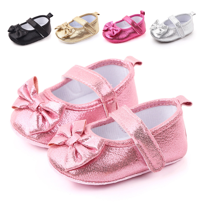 New Toddler Girls Fuchsia Pink Slip on Suede Mary Jane Flats Shoes Non Slip Rubber Soles