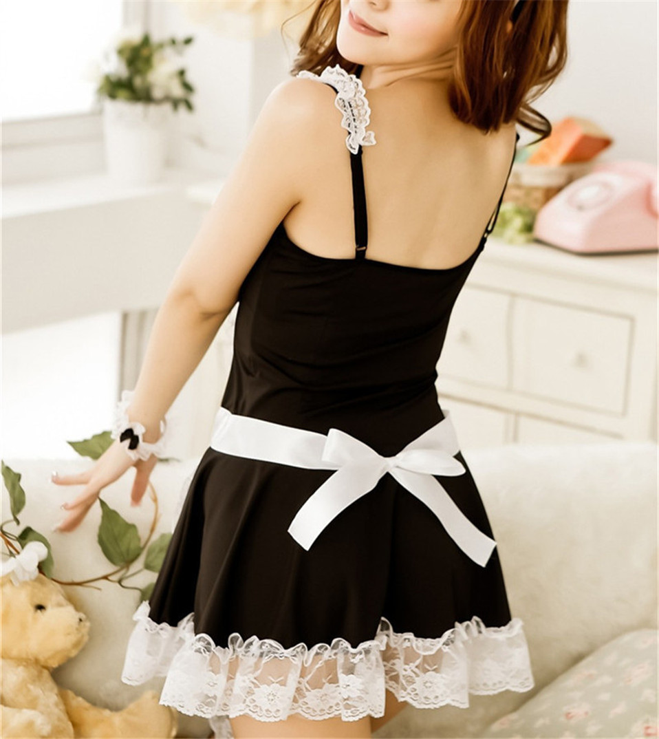 Alishebuy-Sexy-Lingerie-Sexy-Underwear-Lovely-Female-Maid-Lace-Sexy-Miniskirt-Lolita-Maid-Outfit-Sexy-Costume (3)