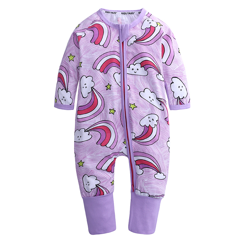 new born baby clothes cotton long sleeve cartoon jumpsuit home wear costume nightclothes for 0-24m baby boy girl autumn rompers