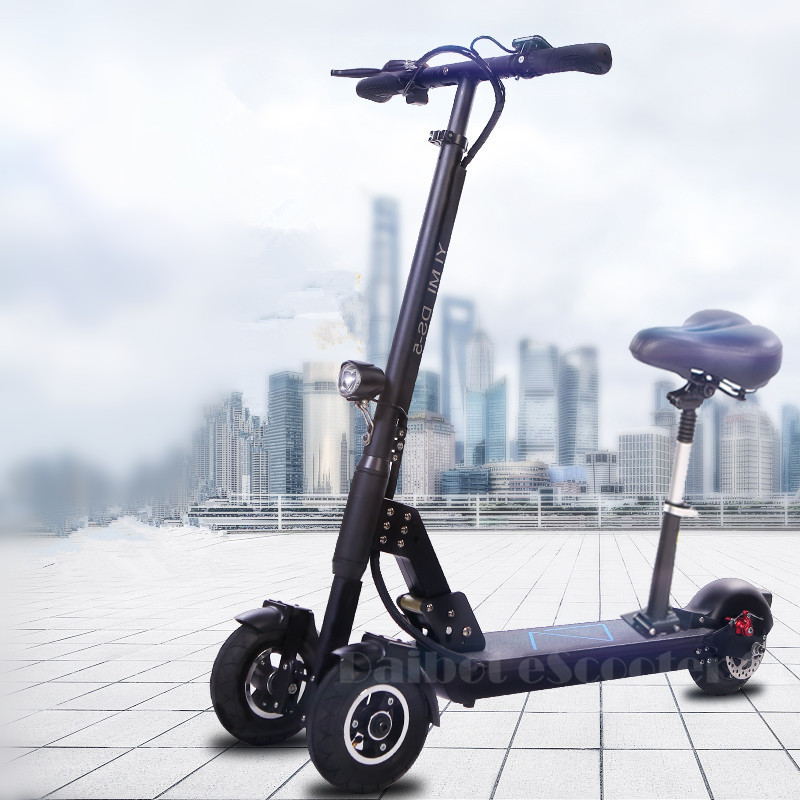 Daibot 3 Wheel Electric Scooter With Seat Electric Scooters 8 inch 400W 36V500W 48V Folding Electric Skateboard For Adults (7)