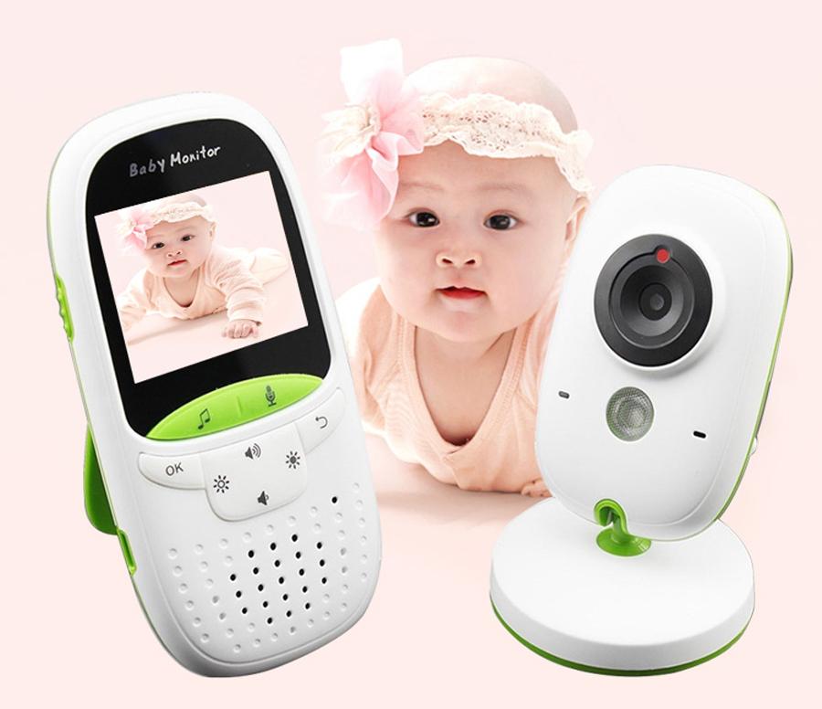 L//P V20 Wireless Digital Audio Baby Monitor  Talk Clear Cry Voice Alarm