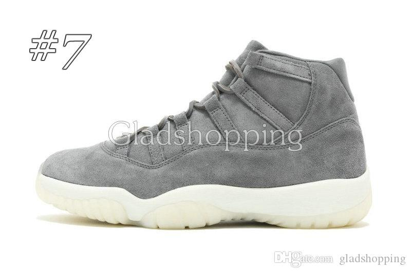 11 Velvet Heiress Wool Grey Suede Space Jams 72-10 Legend Blue Men Women GS Sports Basketball Shoes Sneakers 11s Athletics With Box