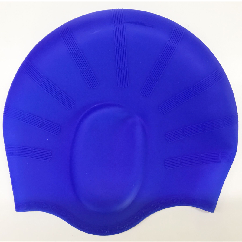 Silicone Swimming Cap With EarCover