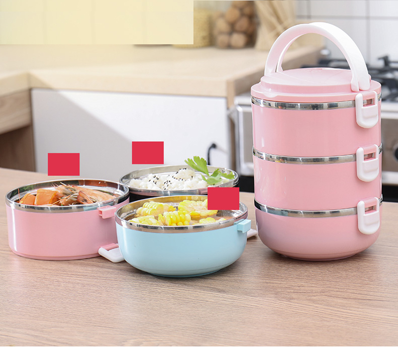 304 stainless steel multi-layer insulated lunch box 27