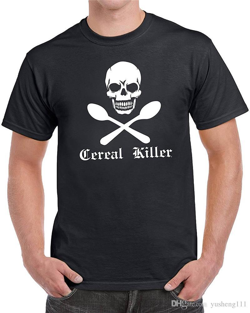 Gedruckt Pure Cereal Miller Crew Neck Fashion 2018 T-Shirts