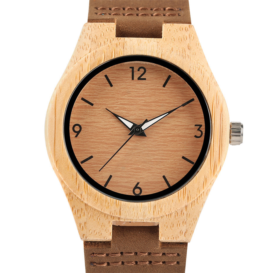 simple design fashion bamboo woood women watches04