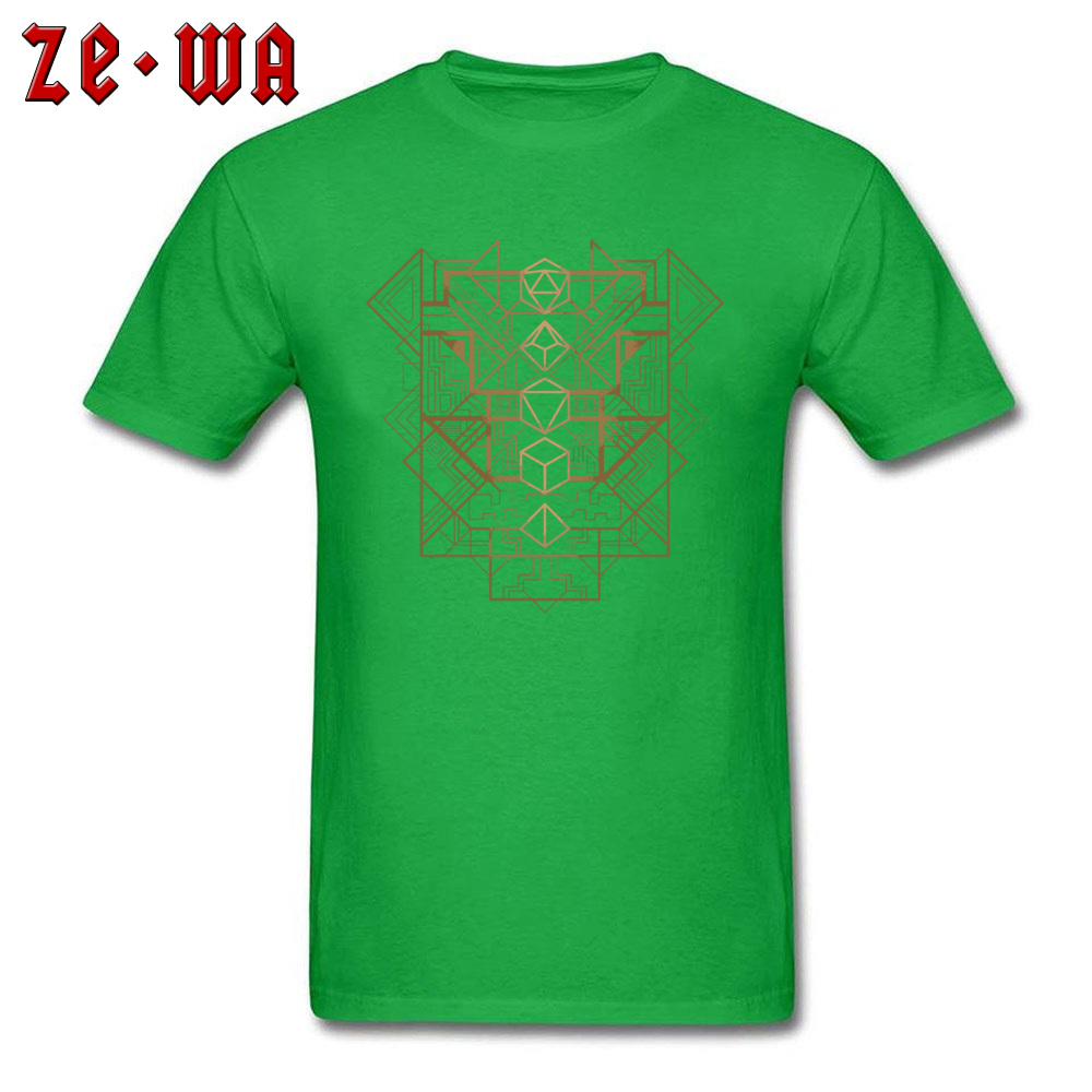 Dice Deco Gold 2034 T Shirts Fashion Short Sleeve Normal 100% Cotton Round Neck Men Tees Casual Sweatshirts Autumn Dice Deco Gold 2034 green