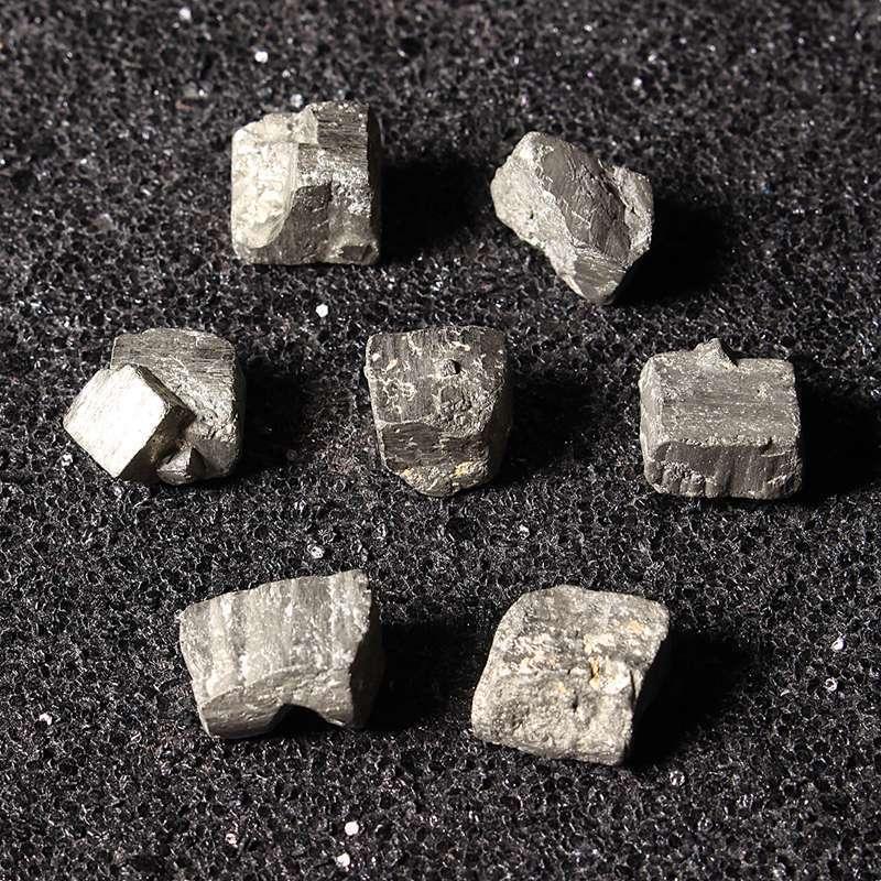 Todas las Piedras Natural Piedra áspera Conectores Encantos de Plata Plateado Raw pequeño