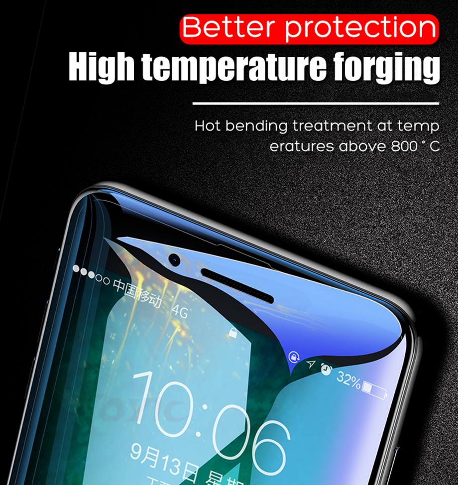 3 For iPhone 6 6s Glass for iphone 6 6s plus glass for iphone 7 glass for iphone 7 plus glass for iphone 8 glass for iphone 8 plus glass for iphone x glass screen protector