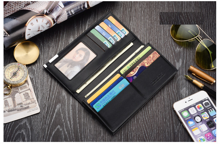 wallet men genuine leather