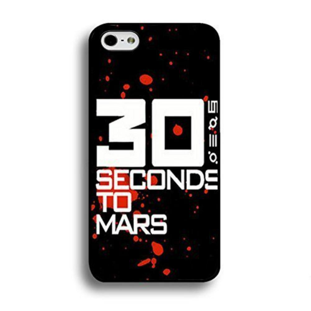 Banda de rock 30 Seconds To caja del teléfono de Marte para Iphone 5c 5s 6s 6plus 6splus 7 7plus Samsung Galaxy S5 S6 S7 S6ep S7ep