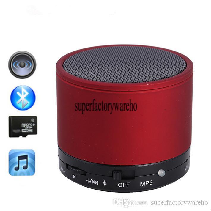 Altoparlante Bluetooth Vivavoce S10 Mini Altoparlante subwoofer portatile Altoparlante Bluetooth senza fili S10 PC Laptop Computer