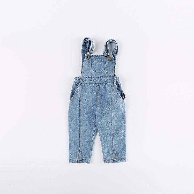 2018 Spring New Baby Boys Overalls Toddler Girls Clothing Children Denim Pants Brand Girl Overall Jeans Kids Jumpsuit Bib Pants