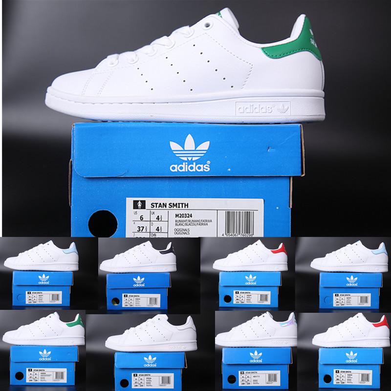 adidas superstar smith allstar hommes Smith originaux femmes chaussures de sport vert argent noir bleu blanc rose rouge mens appartements de